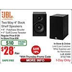 JBL Loft 30 Loft-30AM Bookshelf Speakers $28/pr @Frys (w/emailed code) 10/8  Kaspersky Internet Security 2016 3-PC Free after $55 Rebate (mir+upg)