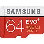 64GB Samsung EVO+ microSDXC UHS-1 Flash Card with adapter $26@B&H Mushkin 64GB Ventura Plus Flash Drive $26 !Newegg