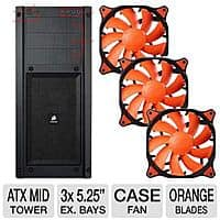 TigerDirect Deal: Corsair Carbide 300R ATX Mid Tower Case + 3x Cougar Vortex PWM Case Fans $50AR or ($25w/GCO) @TigerDirect