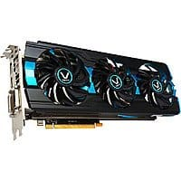 SAPPHIRE Vapor-X 100363VX-3L Radeon R9 280X Video Card $  190AR @Newegg