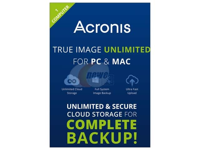 Acronis True Image 2015 Unlimited (PC/Mac) - 1 Device Free after $25 Rebate @Newegg
