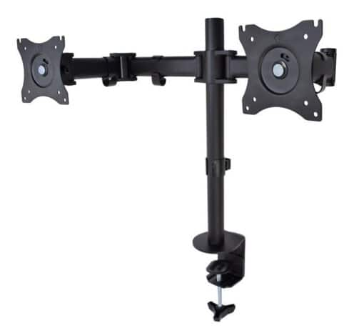 """Vivo STAND-V002M Dual LCD Monitor Desk Mount Stand up to 27"""" $36 @NF"""