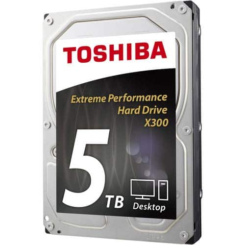 Toshiba 5TB X300 Boxed Hard Drive $119@Frys (5/14 w/emailed code) 32GB Samsung Pro U3 microSDHC $13