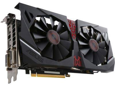 ASUS Radeon R9 380 STRIX-R9380-DC2OC-2GD5-GAMING 2GB Video Card $125AR @Newegg