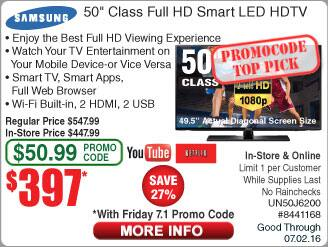 "Panasonic 65"" TC-65CX400U Smart 4K UHD LED TV $799 55"" TC-55CX400U $499 @Frys (starts 7/1 w/emailed code)"