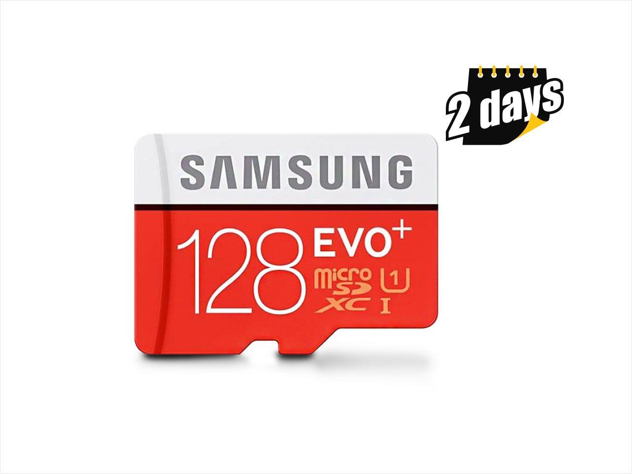 Samsung EVO+ 128GB Class 10 UHS-1 microSDXC $40NF