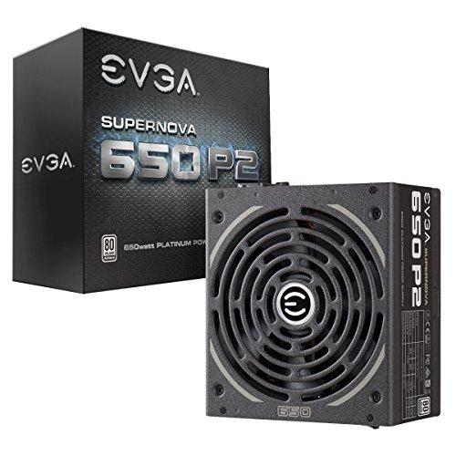 EVGA SuperNOVA 650 P2 650W 80Plus Platinum Modular Power Supply  220-P2-0650-X1 $80AR@Newegg 750W Corsair CX750 $40AR/AC, RMX650 $70AR/AC