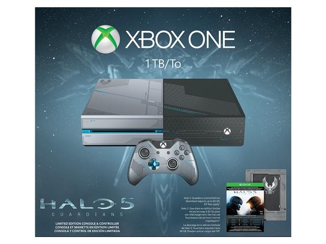 1TB Microsoft Xbox One Guardians Limited Edition Console Bundle $270AC @Newegg