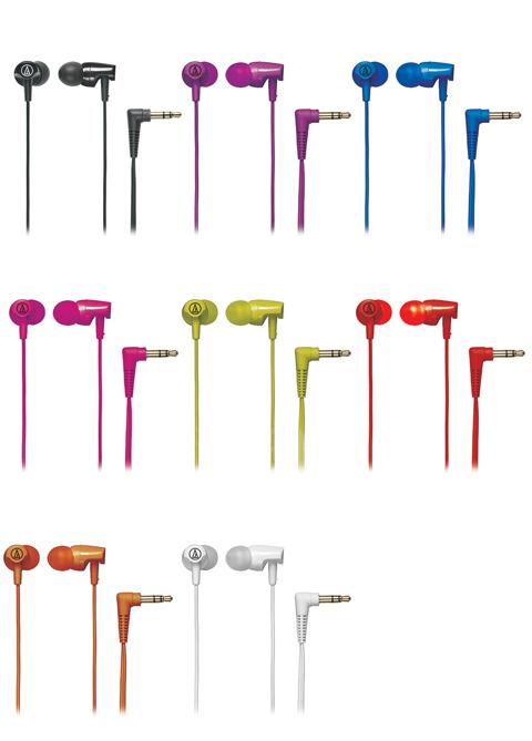 Audio Technica SonicFuel In-Ear Headphones ATH-CLR100 $8@Newegg