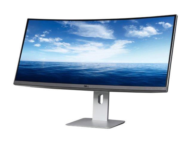"""34"""" Dell UltraSharp U3415W Ultrawide Curved LED Monitor WQHD $670 @Newegg"""
