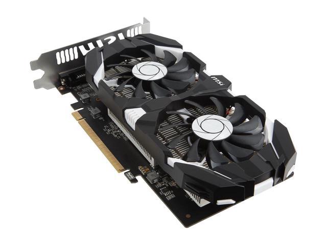MSI GeForce GTX 1050 DirectX 12 GTX 1050 2GT OC 2GB Video Card $100AR@Newegg