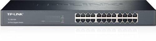 TP-LINK TL-SG1024 10/100/1000Mbps Unmanaged 24-Port Gigabit rackmountable Switch $60AC  @Newegg