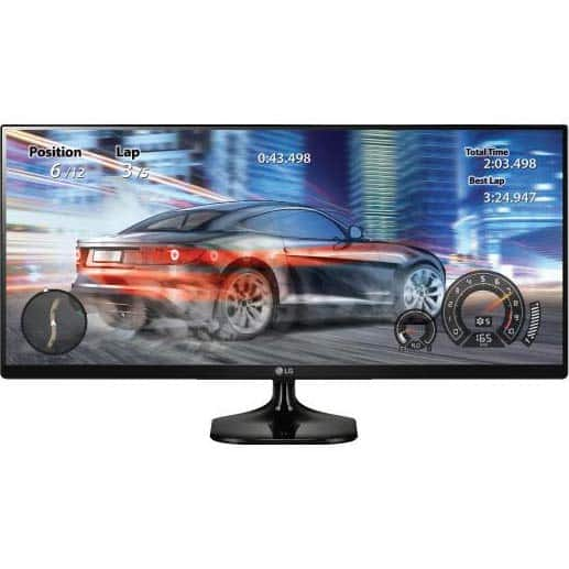 """LG 25UM58 25"""" IPS 21:9 UltraWide Monitor (2560 x 1080) $154@Frys"""