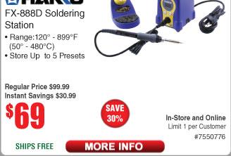 slickdeals soldering station
