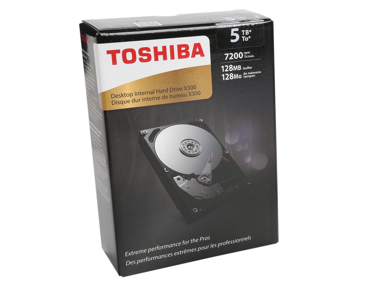 5TB Toshiba X300 Hard Drive $140AC  500GB WD Blue SSD $140AC
