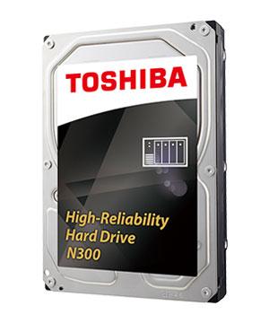 4TB Toshiba N300 7200RPM NAS Hard Drive $119 w/emailed code