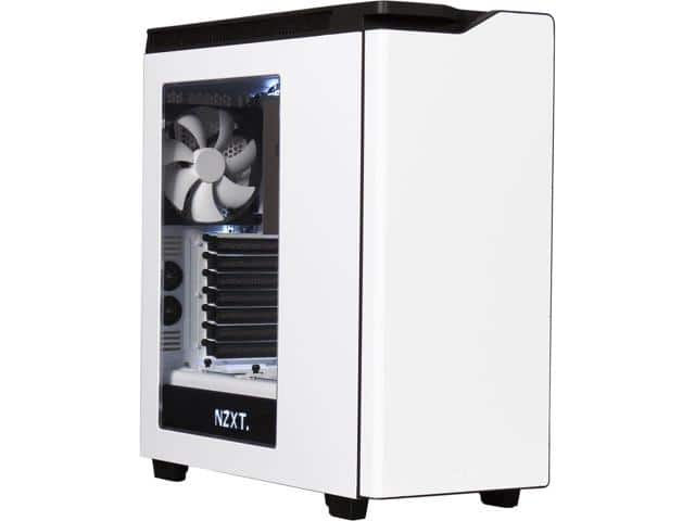 NZXT H440 STEEL Mid Tower Case (White) $88AR