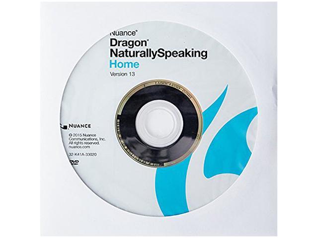 NUANCE Dragon NaturallySpeaking Home 13 - OEM $10AC