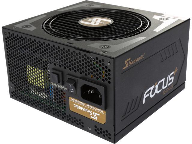 Seasonic FOCUS Plus Series SSR-850FX 850W 80+ Gold Full Modular 140mm Power Supply $90AR ($80 w/MPCO)