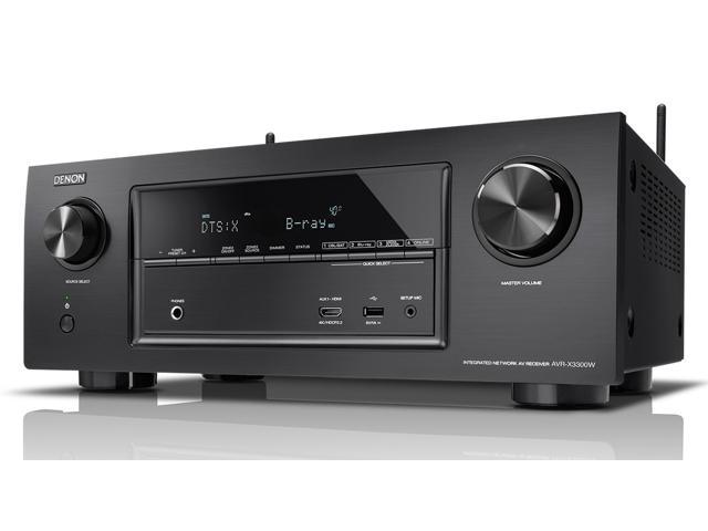 Denon AVR-X3300W 7.2-Channel 4K AV Receiver (+ $100 Newegg eGC) $599 ($574 w/MPCO)