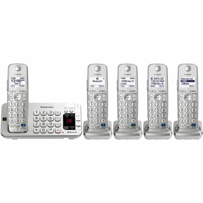 Panasonic Link2Cell 5-handset Cordless Phone Set $80 (OOS for ship)