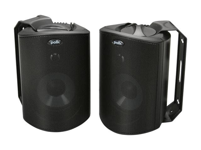 Polk Audio Atrium 4 All-Weather Outdoor Speakers $82/pr