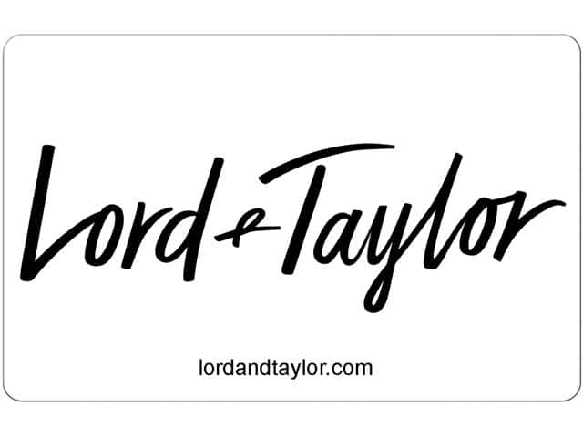 Lord & Taylor $50 Gift Card (Email Delivery) $40 - Slickdeals.net