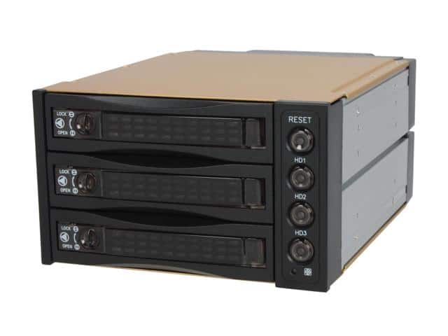 "Athena Power BP-SAC2131B 3.5"" HDD Hot-Swap Backplane Module $36AC"