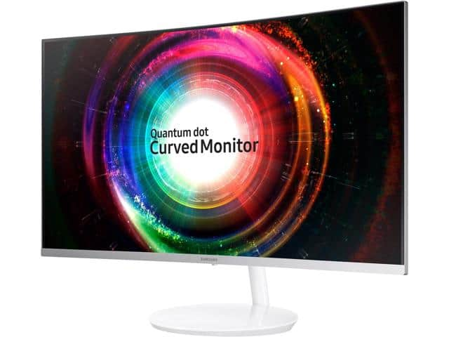 Samsung C32H711 32 inch WQHD 2K 2560 x 1440 FreeSync Curved Gaming Monitor, Quantum Dot Technology $430AC