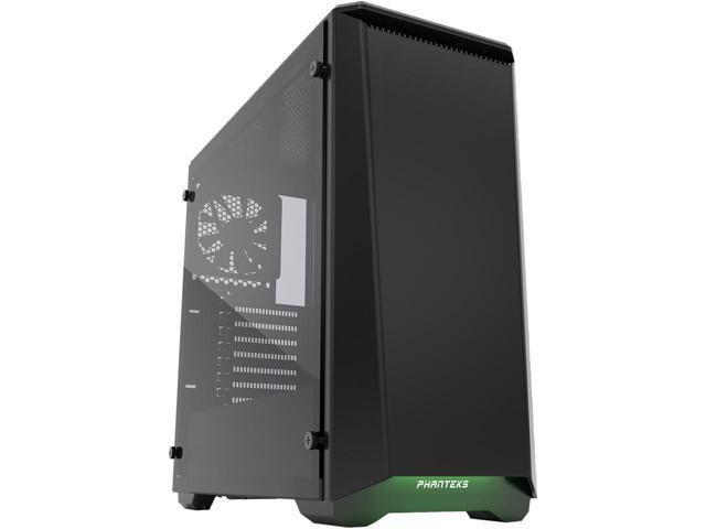 Phanteks Eclipse P400S PH-EC416PSTG_BK Silent Edition Satin Black Tempered Glass/Steel Mid Tower Case $75AR