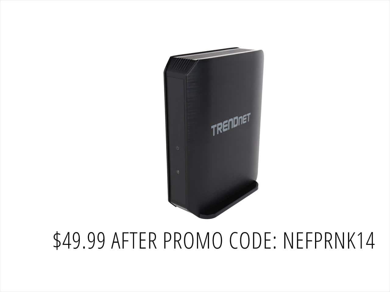TRENDnet TEW-824DRU AC1750 Dual Band Wireless Router with StreamBoost $50AC @NF 5-port GreenNet GbE Switch $15AC
