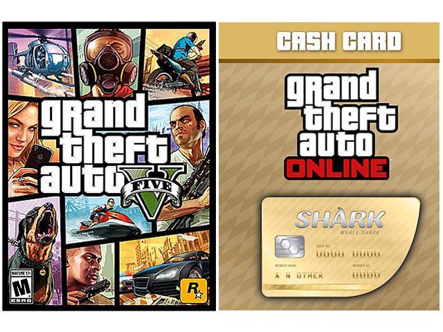 GTA V & Whale Shark Card Bundle $36 59AC - Slickdeals net