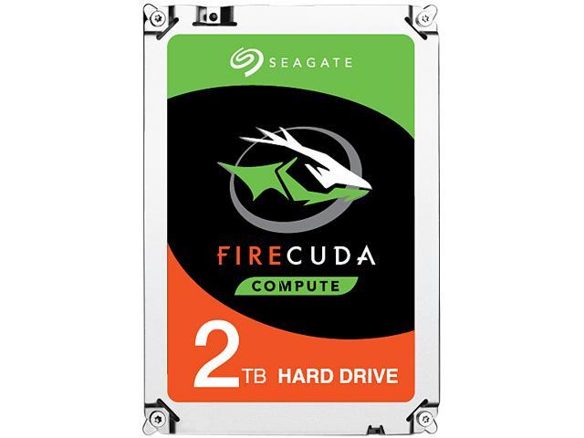 """2TB Seagate FireCuda Gaming SSHD 2.5"""" Hybrid Hard Drive $80AC"""