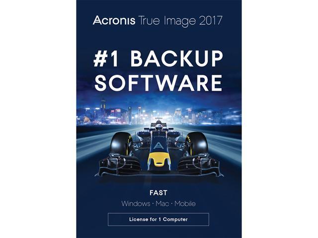 Acronis True Image 2017 - 1 Device (+WPS 10 1Yr + Total Defense AV 1Yr) Free after $35 Rebate