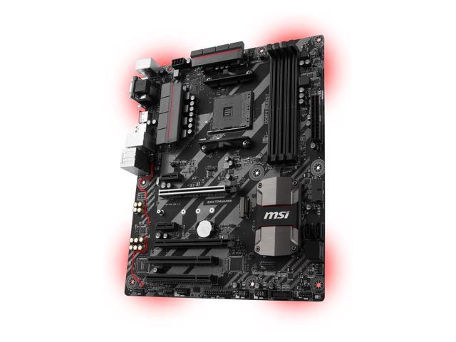 MSI B350 TOMAHAWK AM4 AMD B350 AM4 Motherboard $70AR