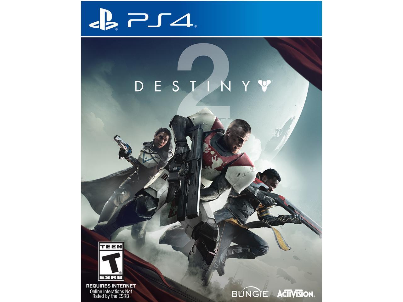 Destiny 2 PS4 + Dualshock 4 Controller $80