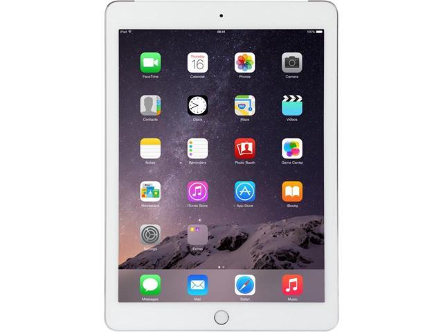 64GB Apple iPad Air 2 MH2N2LL/A Apple A8X IOS Silver (Wifi+Cellular) *RFB* $290AR