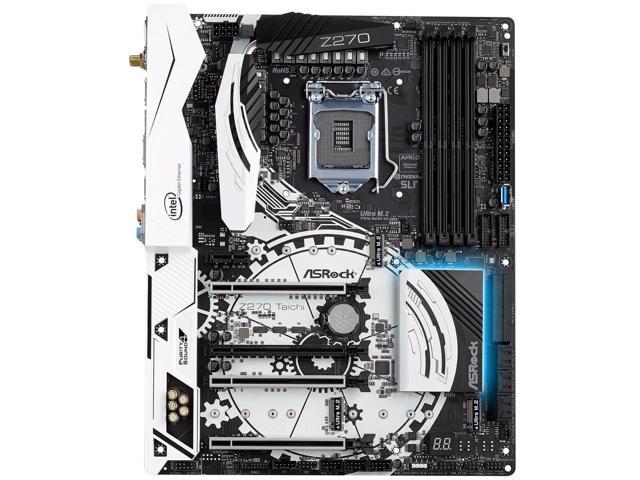 ASRock Z270 TAICHI LGA 1151 Intel Z270 Motherboard $140AR