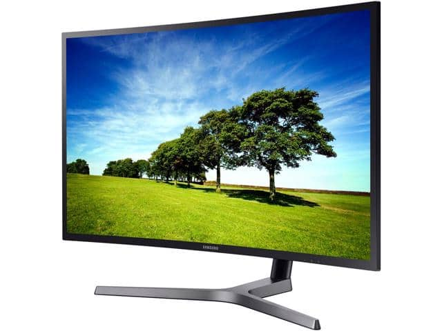 SAMSUNG C27HG70 27 inch 1ms (GTG) WQHD 144Hz FreeSync 2 Curved Monitor, VA Panel $490AC