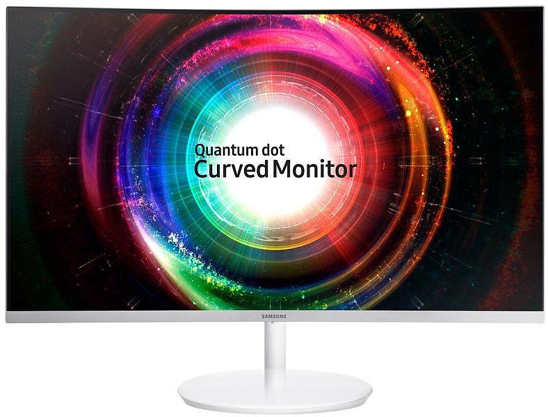 Samsung C32H711 32 inch WQHD 2560x1440 FreeSync Curved Gaming Monitor, Quantum Dot Technology $400AC