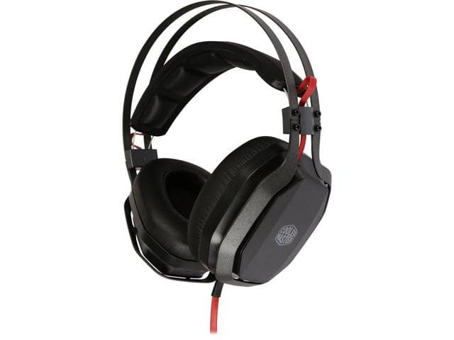 Cooler Master MasterPulse  2.0 Channel Over-Ear Gaming & Audio Headset w/Bass FX $26AC