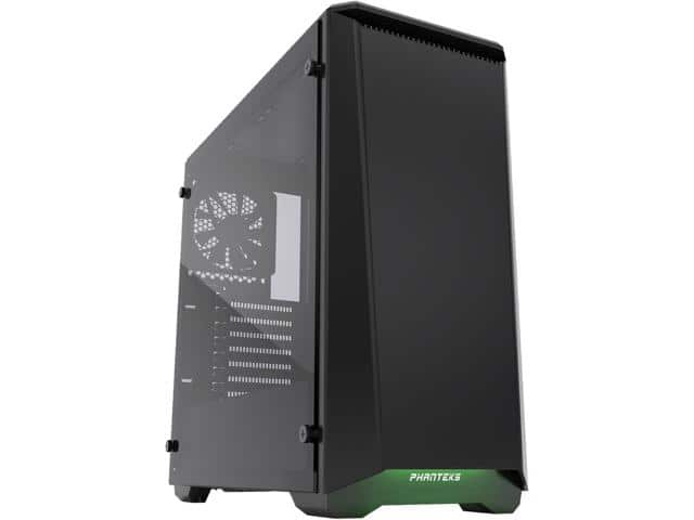 Phanteks Eclipse P400 PH-EC416PTG_BK Satin Black Tempered Glass/Steel Mid Tower ATX Case $60AR