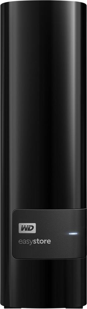 WD - easystore® 8TB External USB 3.0 Hard Drive - Black $180