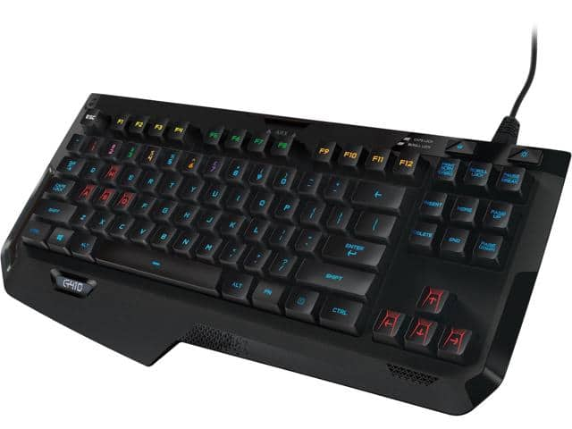 Logitech G410 Atlas Spectrum RGB Tenkeyless Gaming Keyboard $55@NF