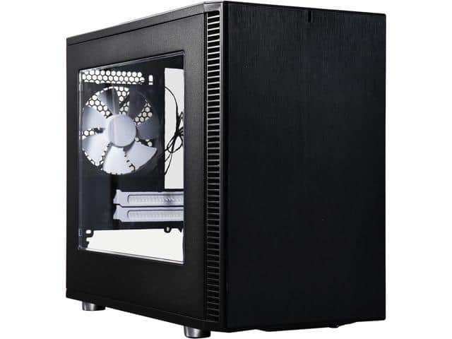 Fractal Design Define Nano S Black Silent Mini ITX Mini TowerCase $50 ($55 w/window)