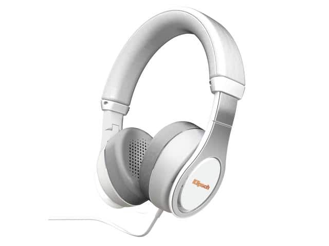 Klipsch Reference On-Ear II Headphones (White) $100AC