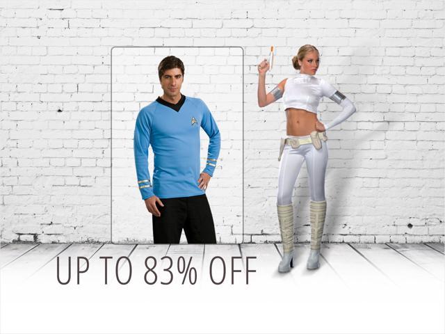Star Wars & Star Trek Adult Costumes: Padme or Spock $10