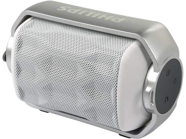 Philips Shoqbox Mini BT2200W/27 (white) Bluetooth Rechargable Speaker $24@NF
