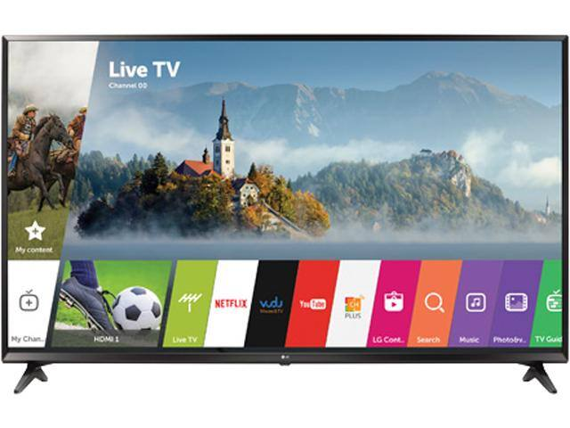 LG 43UJ6300 43-Inch 4K UHD Smart LED TV with HDR $330AR