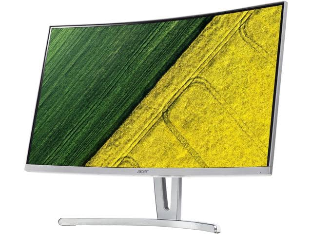 """27"""" Acer ED Series ED273 Silver  FHD VA Curved Monitor $180 @NF"""